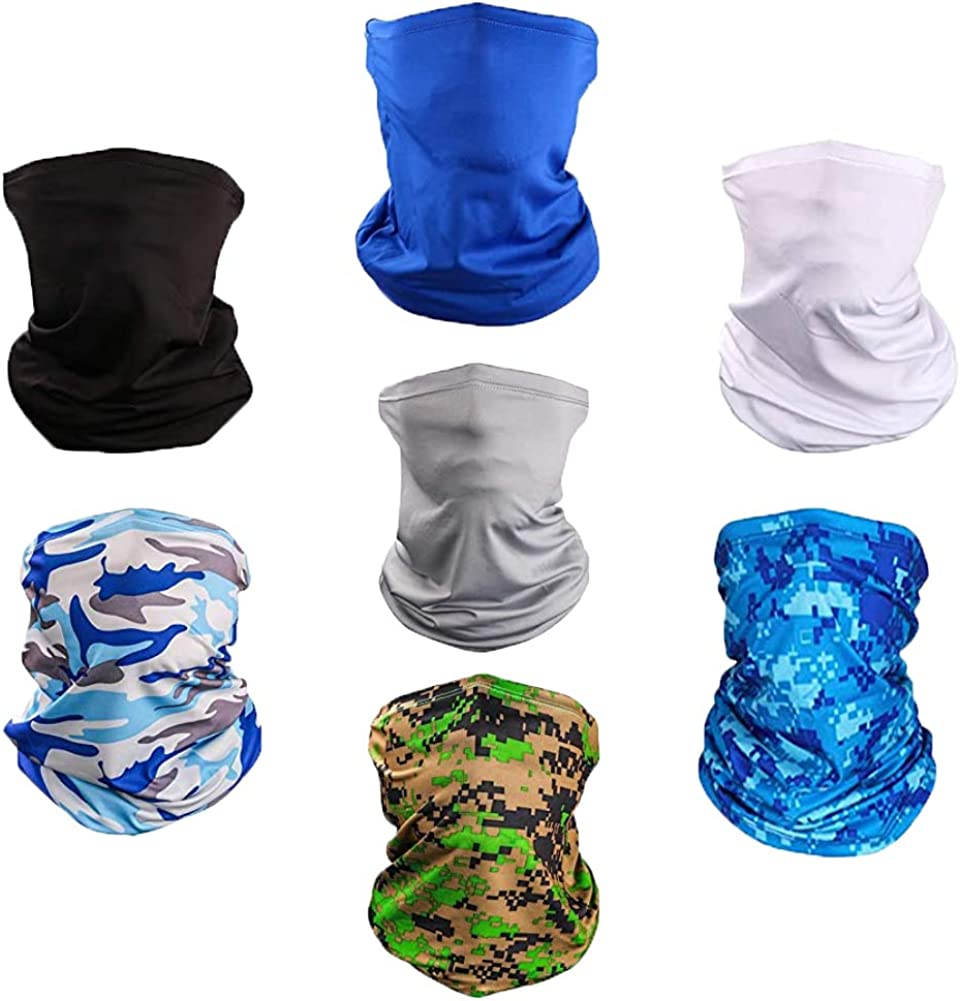 Sun Dust Face Mask-Neck Gaiter Magic Scarf Bandana Headwrap Balaclavas …