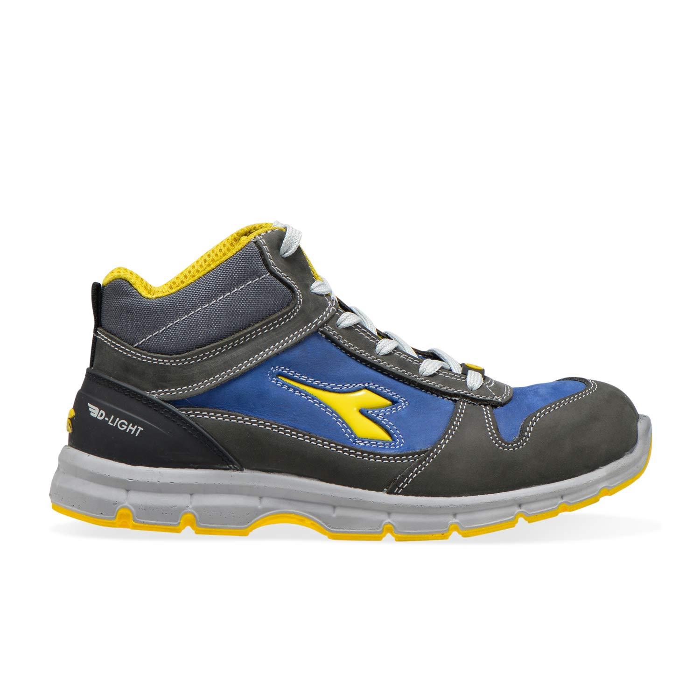 C4906 - Castle Rock-insignia bluee Utility Diadora - High Work shoes Run II HI S3 SRC ESD for Man and Woman