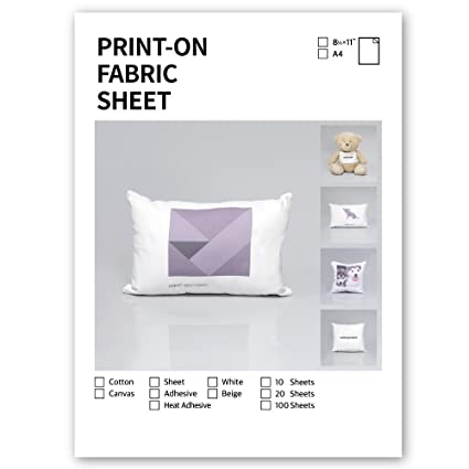 graphic relating to Printable Canvas called : Sunnyscopa Inkjet Printable Canvas Sheet White