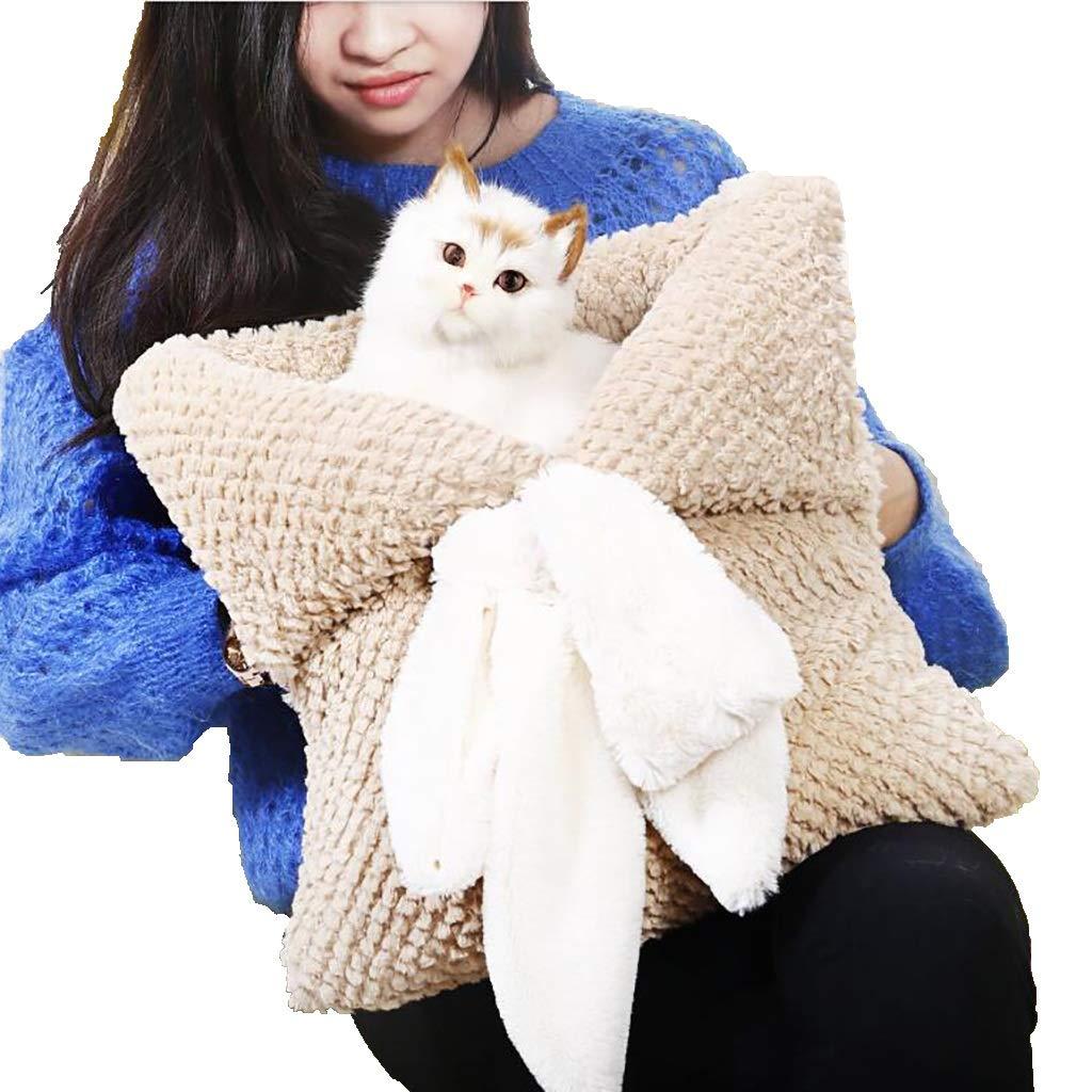 Cat nest Pet House Puppies Cat Cat House Four Season mat Pet Supplies Cat Sleeping Bag Bed Washable