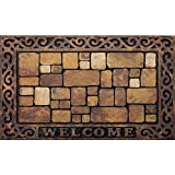 Apache Mills 60-732-1449-18x30 Masterpiece Aberdeen Welcome Door Mat, 18-Inch by 30-Inch (Limited Edition)