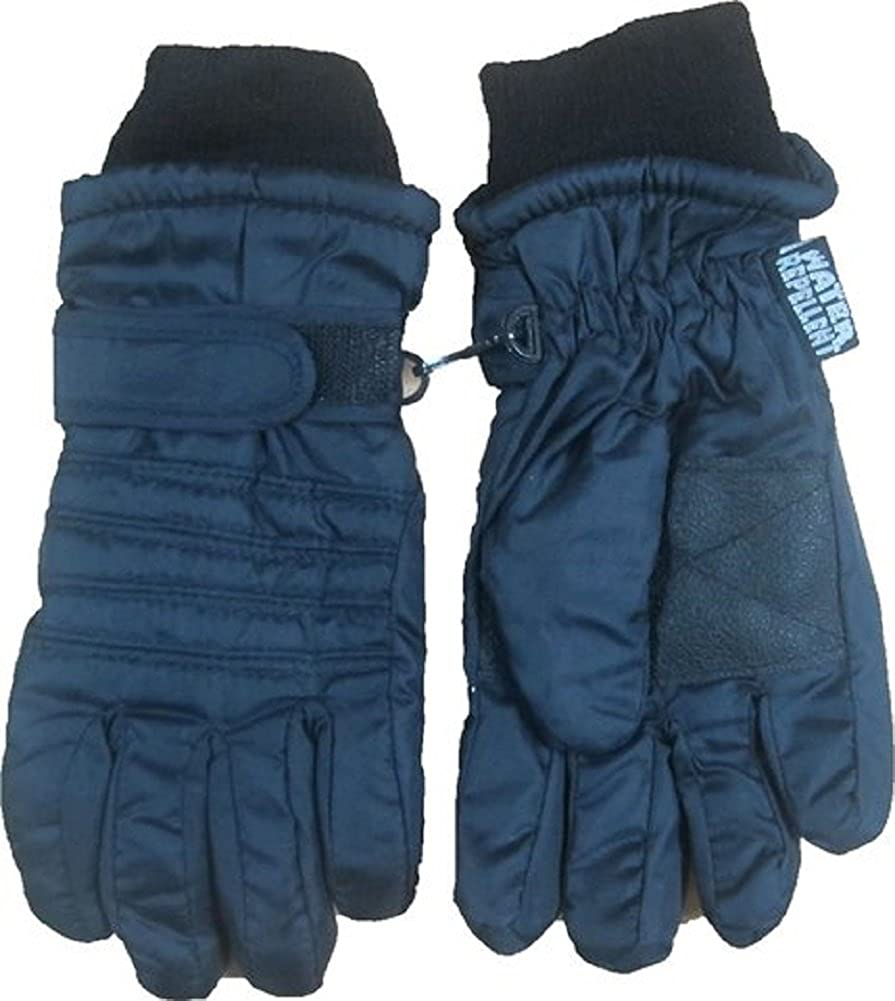 Thinsulate Windproof /& Waterproof Snow Ski Gloves with Free Matching Mitten Clip Set
