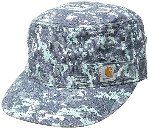 - Carhartt Women's Hendrie Military Cap Moisture Wicking Sweatband Closure,Hybrid Camo Blue,One Size
