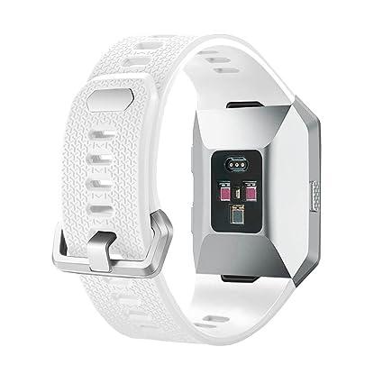 Amazon.com: SHareconn Fitbit Ionic Band, Adjustable Sport ...