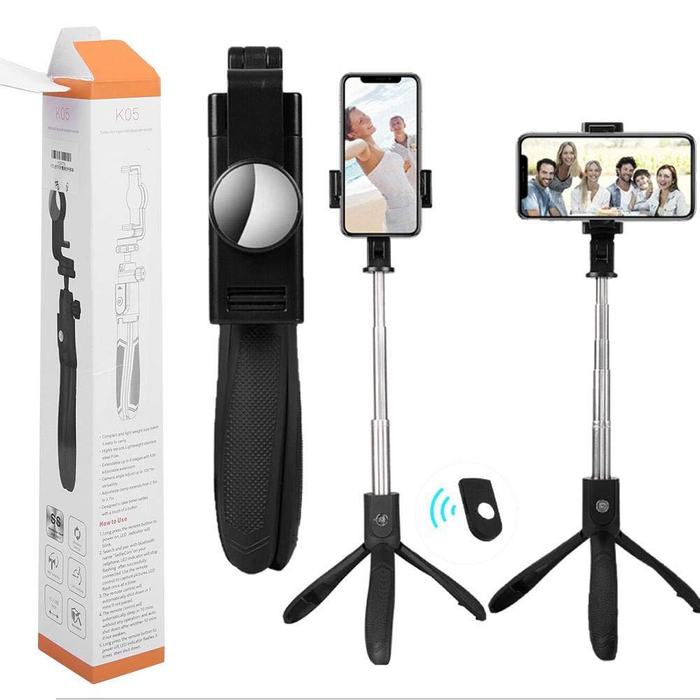 Diyeeni Selfie Stick with Tripod, Tripod Kit Selfie Stick Portable Folding Portable, Selfie Stick Waterproof for Phone/Mobile by Diyeeni