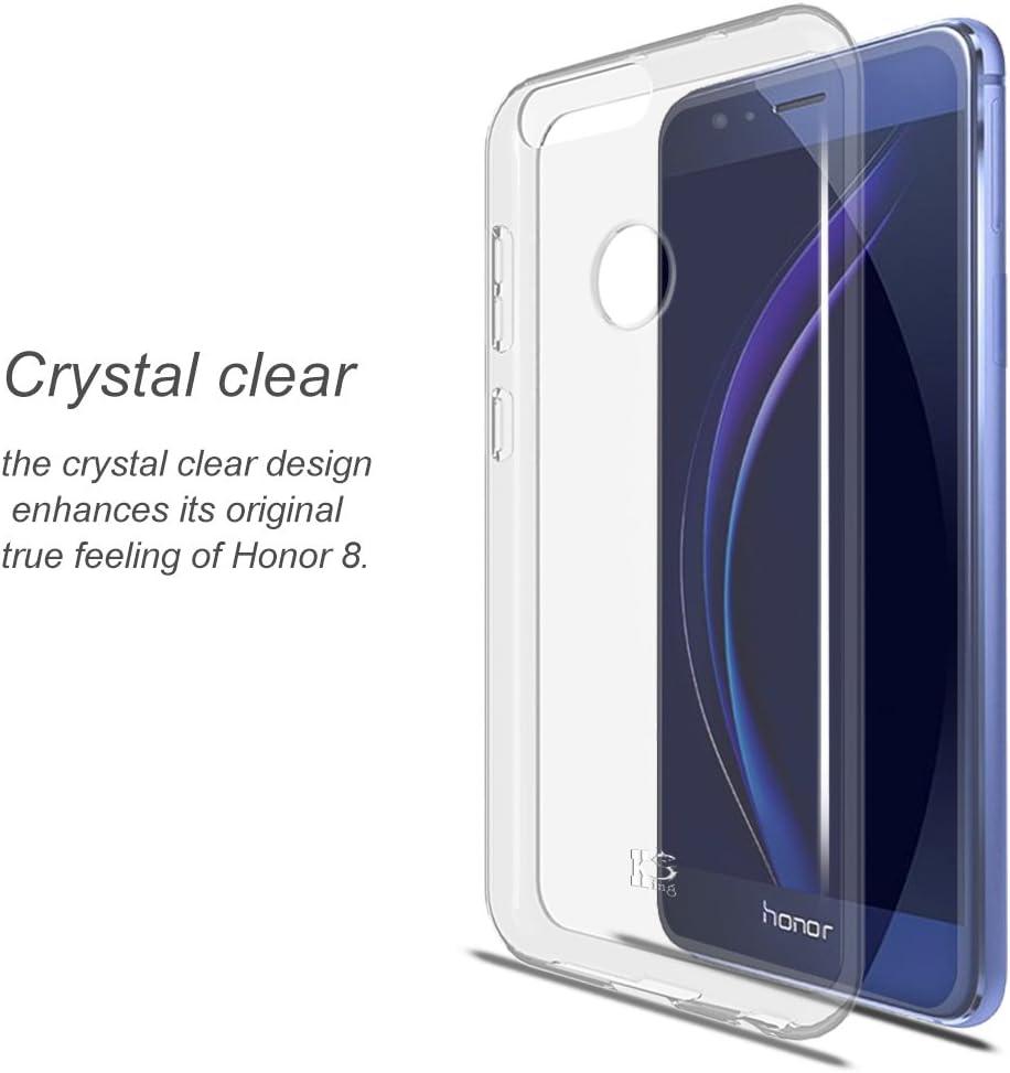 KingShark Huawei Honor 8 Funda, Funda Bumper con Absorción de ...