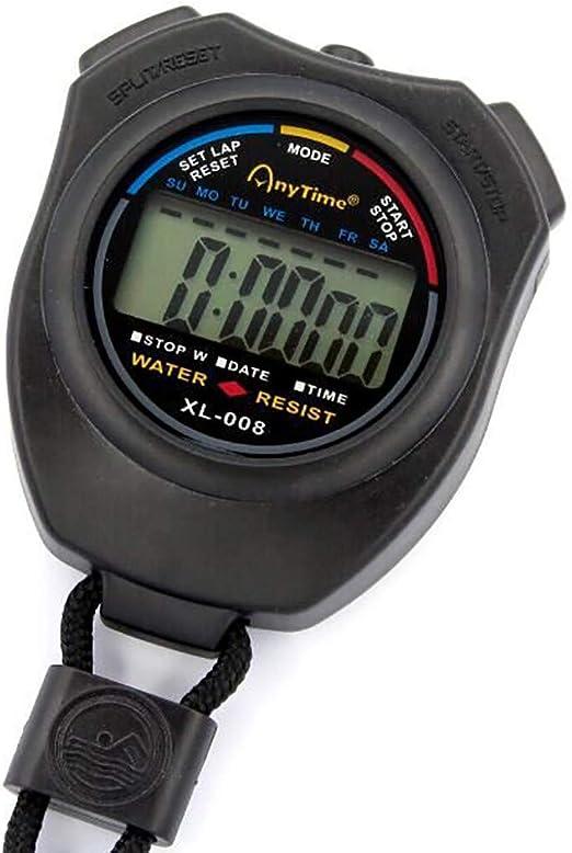 Cronómetro electrónico multifunción cronometro Deportivo ...