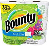 Bounty Paper Towels, Select-a-Size, Print, 2 Count
