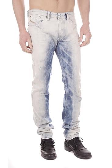 dc37203d Diesel Shioner 0828V Men's Jeans Trousers Slim Skinny: Amazon.co.uk:  Clothing