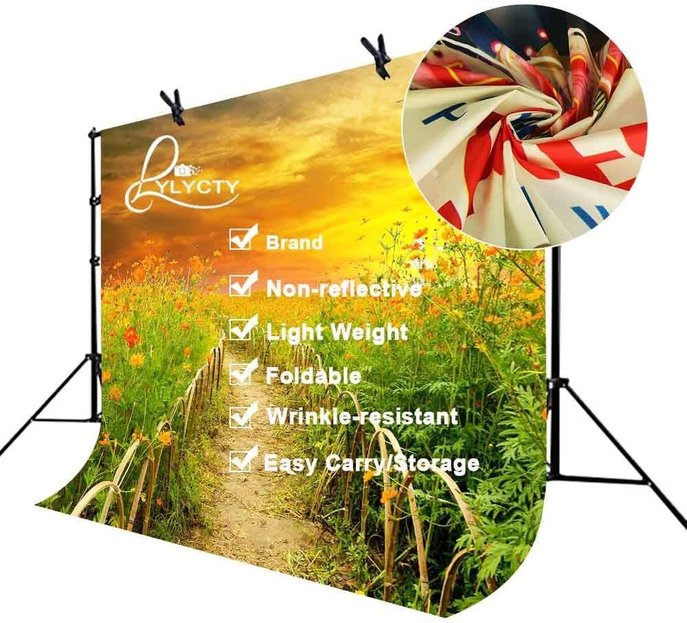 GoEoo 7x5ft Country Trail Backdrop Lush Plant Country Trail Photography Background and Studio Photography Backdrop Props LYNAN207
