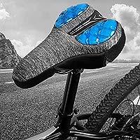 Toygogo Funda de Asiento Bicicleta Estática con Esponja 3D ...