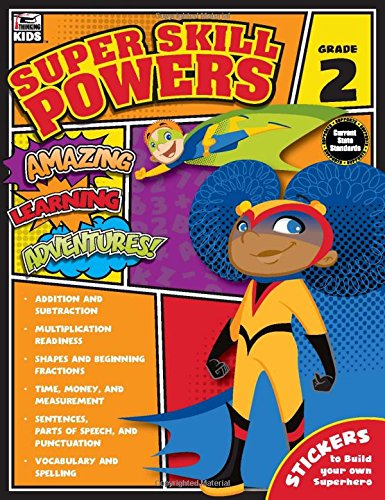 Super Skill Powers, Grade 2: Thinking Kids, Carson-Dellosa ...