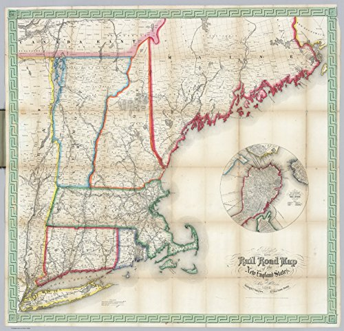 Map Poster - New England States