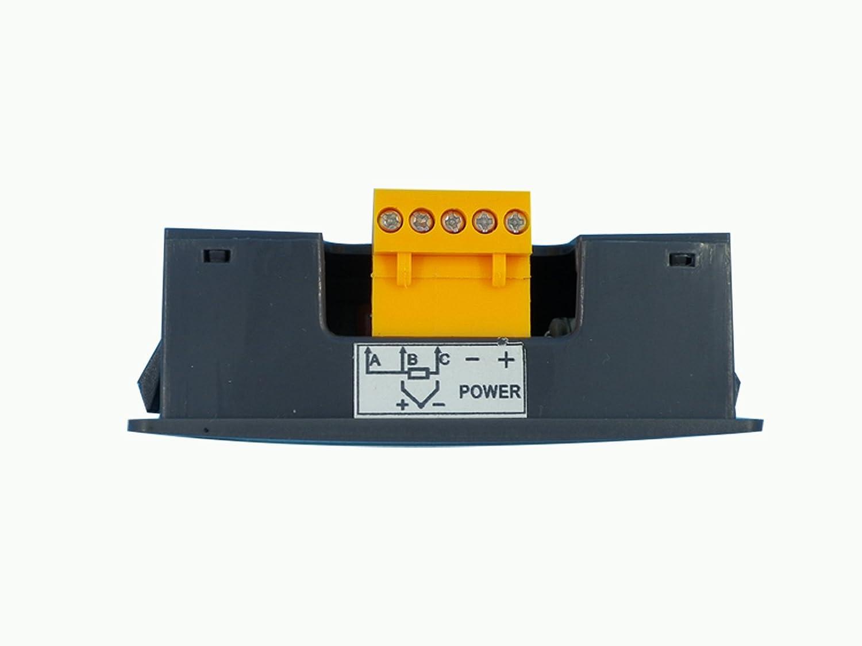 EGT Sensors with Digital EGT Gauge Combo Kit for Exhaust Temperature Red LED ℉)