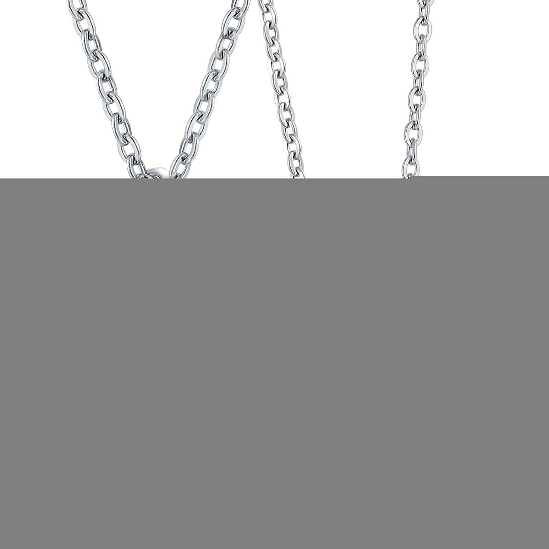 7603d6b18e01 SonMo Colgante para Hombre Viceroy Collar Colgante de Cuadrado Colgante  Acero Dorado