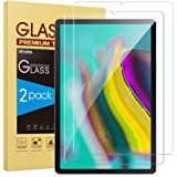 [2-Pack] SPARIN Screen Protector Compatible with Samsung Galaxy Tab S6 / Tab S5e 10.5 Inch , 9H Hardness Tempered Glass, S Pe