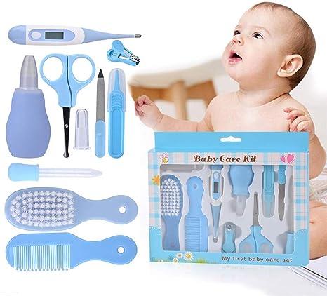 FNBABY Kit De Aseo Para El Cuidado Del Bebé Set De Manicura Azul ...