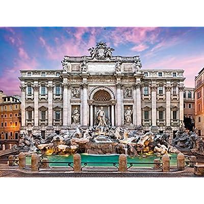Clementoni 35047 Puzzle Fontana Di Trevi