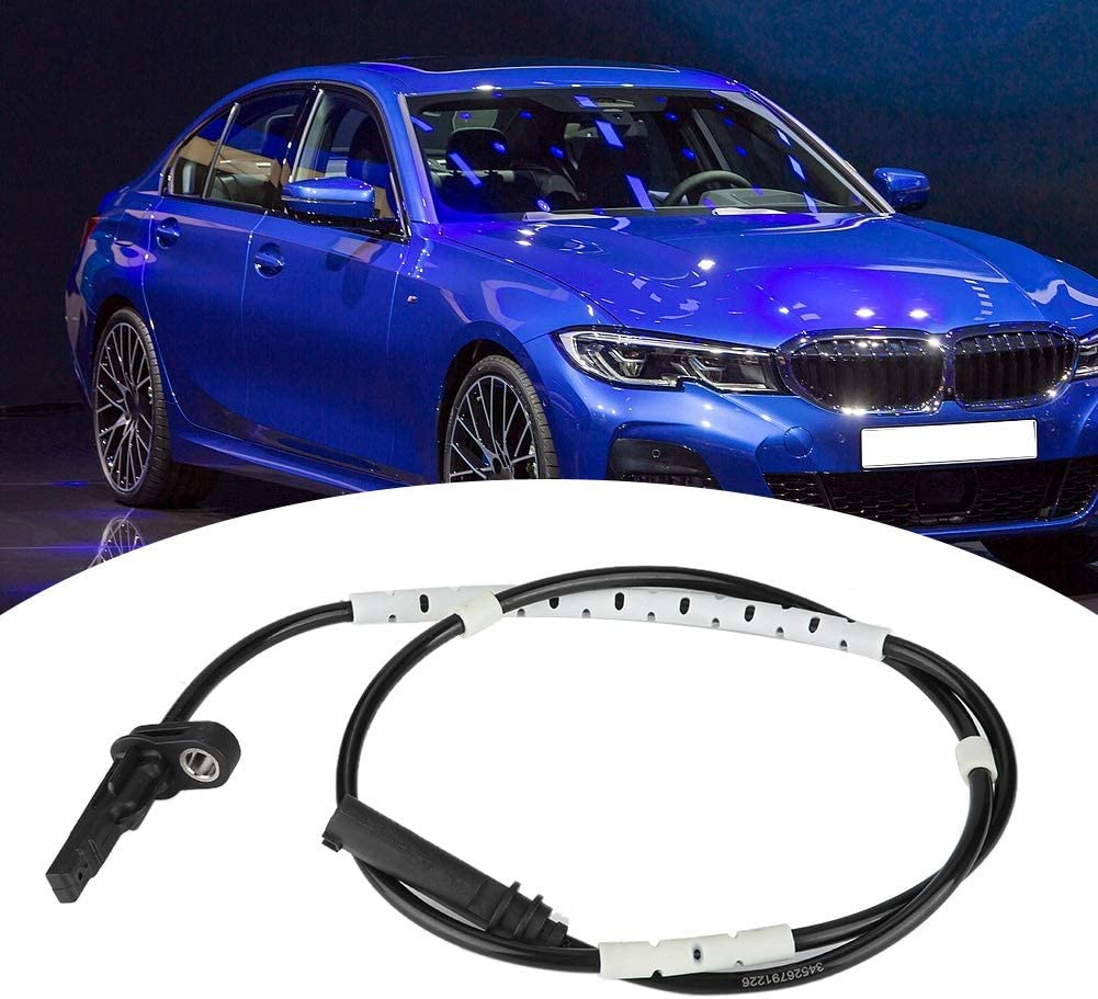 34526791226 Car Rear ABS Wheel Speed Sensor Replacement Part Automotive Vehicle ABS Wheel Speed Transducer Wiring Harness Speed Detector for F22 F87 F30 F80 F31 F33 F83 F34 F32 F82 F36