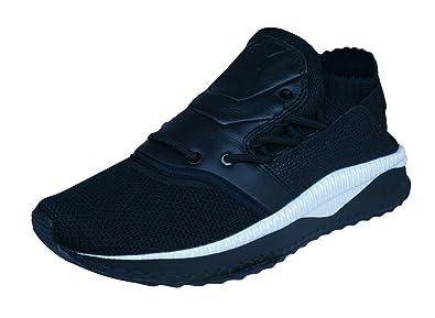 6d03b99bd81 PUMA Mens Sneakers Tsugi Shinsei Caviar FM Training Shoes-Black-7.5