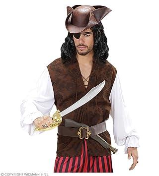 widmann-wdm7588p disfraz Adulto para hombre, Marrón Rojo ...