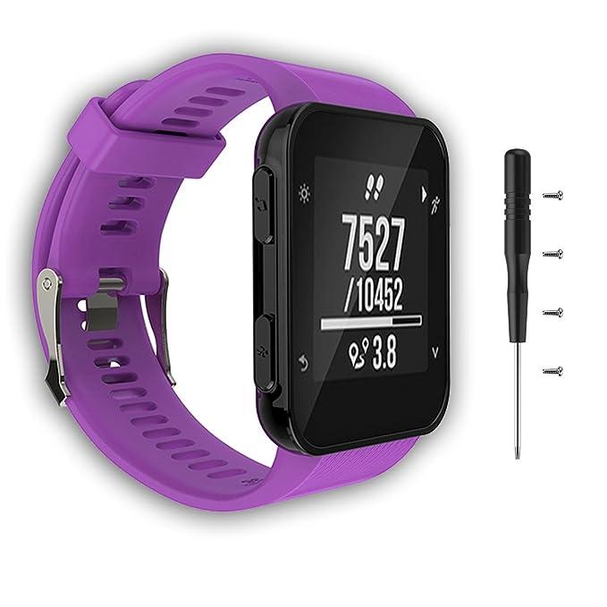 1 opinioni per Cyeeson Garmin Forerunner 35GPS running sostituzione Watch Band morbido