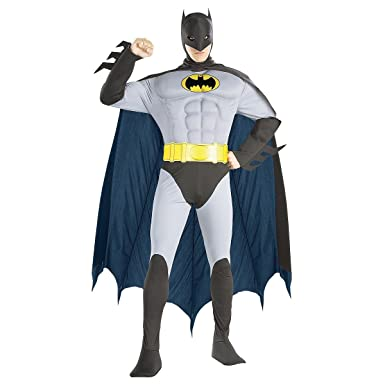 Rubies Costume Co R56120-M Muscle Chest The Batman Disfraz Adulto ...