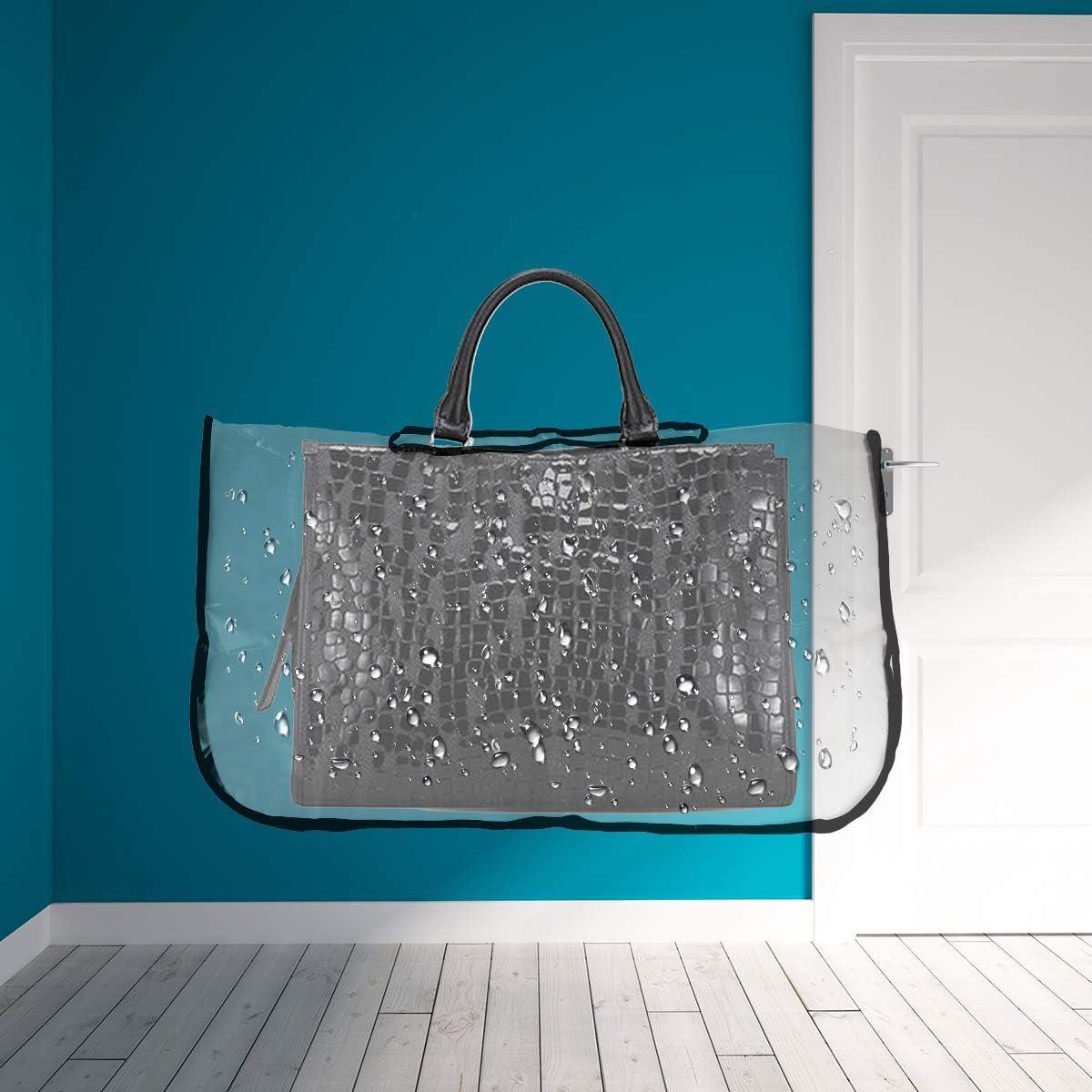 70 * 70cm VALICLUD EVA Transparent Bound Handbag rain Cover
