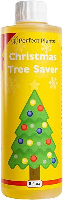Perfect Plants Christmas Tree Saver | Christmas Tree Food 8oz. | Easy Use Xmas Tree Preserver | Have Healthy Green Christmas Trees All Holiday Season