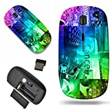 Luxlady Wireless Mouse Travel 2.4G Wireless Mice with USB Receiver, 1000 DPI for notebook, pc, laptop, macdesign IMAGE ID: 26546976 Photograph which depicts a collage made up of the keyboard and the h