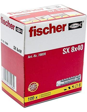 Fischer 070008 Taco Fischer Nylon SX- 8 (100 piezas)