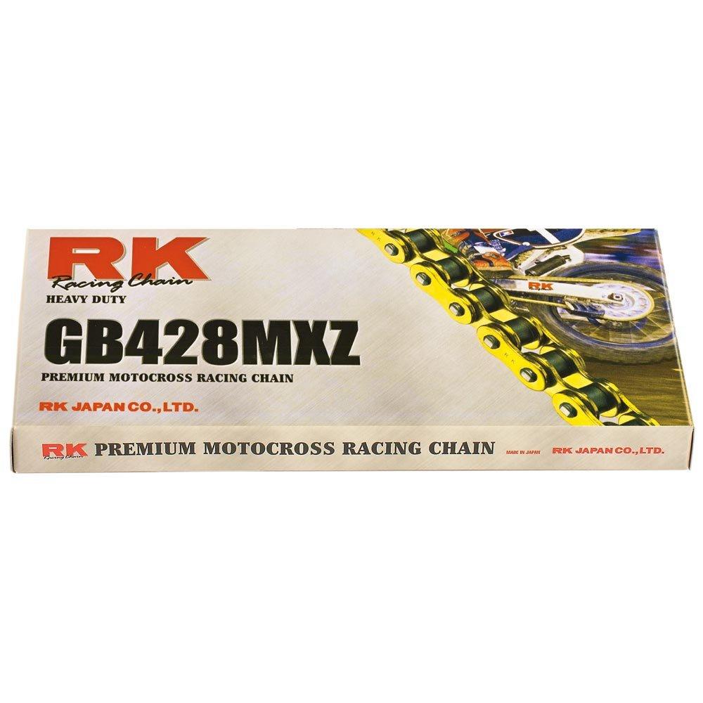 X 09-17 offen Kettensatz Yamaha WR 125 R 14//5 GOLD Kette RK GB 428 MXZ 134