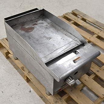 Amazon.com: cecilware Pro gcp15 Comercial Plancha de gas ...