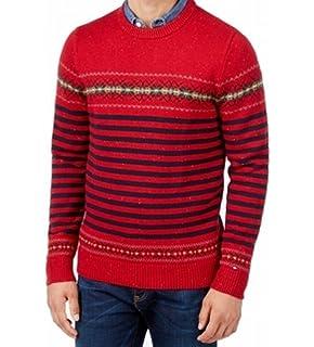 Mens Jumper Threadbare IMS 050 Knitted Sweater Pullover Knitwear Fair Isle