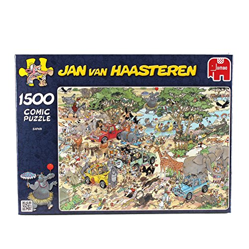 Jan Van Haasteren Safari Jigsaw Puzzle (1500 Pieces)