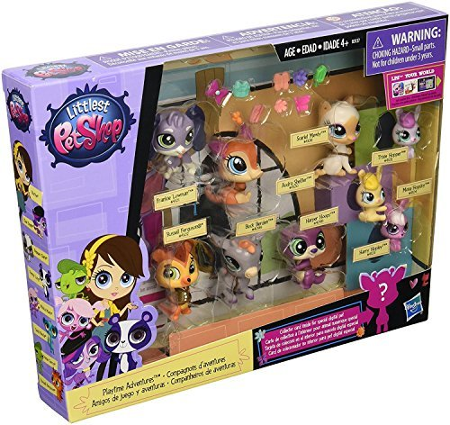 Littlest Pet Shop Playtime Adventures 9 Pack Littlest Pet Shop Figures