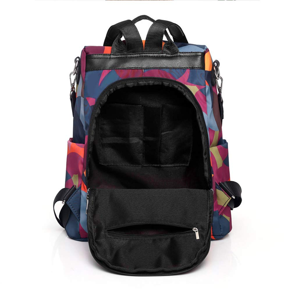 Anti-theft Leisure Wallet Fashion College Shoulder Dual-use Canvas backpack Shoulder Bag Mini Ladies Girls Oxford Cloth