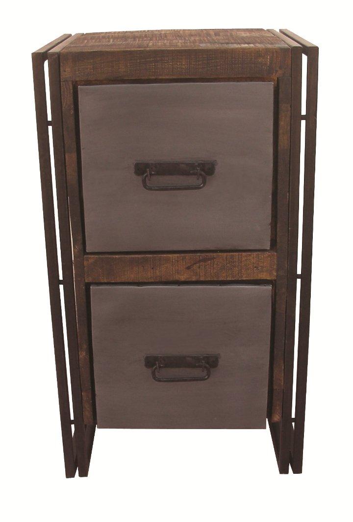 Moti Furniture Allison Filing Cabinet with 2-Drawer