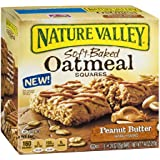 Nature Valley Soft-Baked Oatmeal Squares Peanut Butter 7.4 OZ (Pack of 24)
