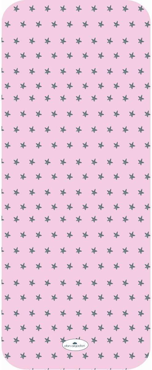 Don Algodón Colchoneta Estrella Agua Marina Rosa: Amazon.es: Bebé