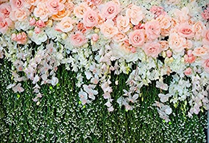 HD 7x5Ft Romantic Roses Background Wedding Party Happiness Photography Seamless Vinyl Video Studio Photograph Backdrop GEME463