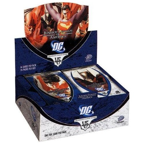 DC VS System Trading Card Game Justice League of America Booster Box 24 - Booster Dc Justice League