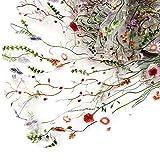 De.De. 1X1.5m Embroidered Lace