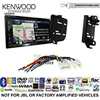Volunteer Audio Kenwood Excelon DNX694S Double Din Radio Install Kit with GPS Navigation System Android Auto Apple CarPlay Fits 2011-2015 Scion tC