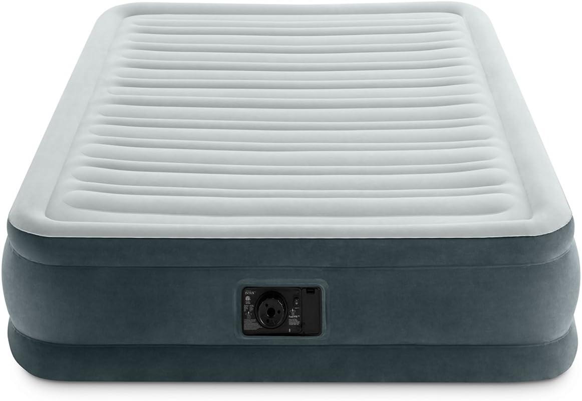 Amazon.com: Intex Comfort Plush Mid Rise Dura-Beam cama de ...