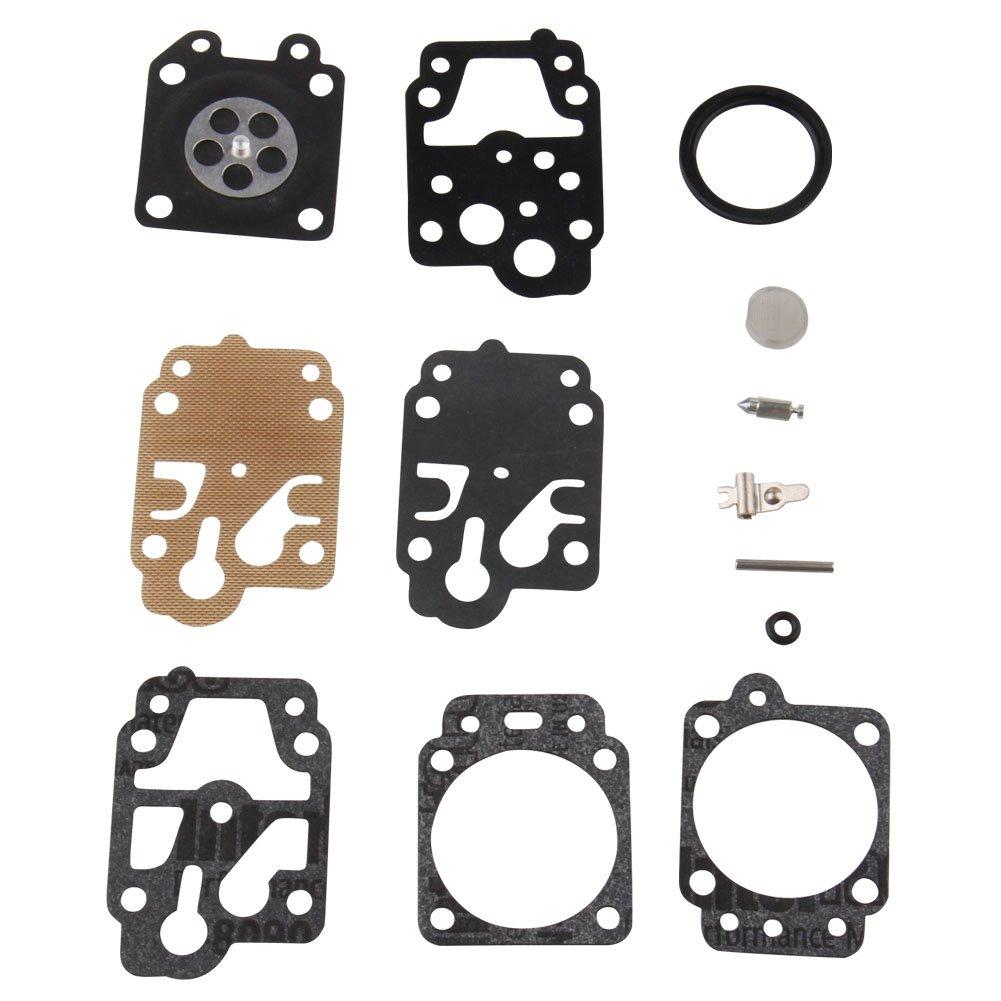 Bang4buck Carburetor Carb Rebuild Kit For Walbro K10-WYB k20-WYJ D20-WYJ Echo Homelite
