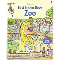 First Sticker Zoo (Usborne First Sticker Books)