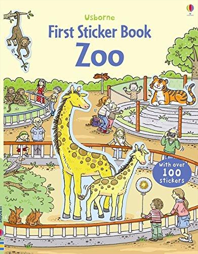 Download Zoo (Usborne First Sticker Book) ebook