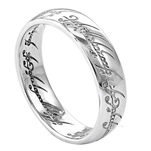 El Señor de los Anillos – El anillo único - acero inoxidable