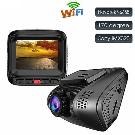 Accfly Cámara de salpicadero, tamaño mini, Full HD 1080P, con grabadora DVR,